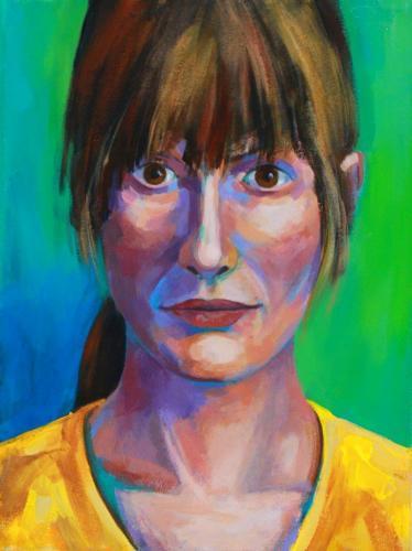 Porträt (Acryl auf Leinwand)